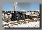 Photo: Nevada Northern 93 with ore train nears the mines