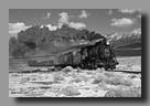 Photo: Nevada Northern RY 93 with mixed train in the Steptoe Valley, NV